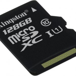 128GB microSDXC Class 10 UHS-I 45R Flash Card Single Pack w/o Adapter