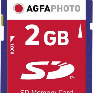 AgfaPhoto SD Memory cards flashgeheugen 2 GB
