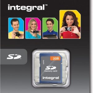 Integral 2GB SD Card 2GB SD flashgeheugen