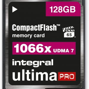 Integral INCF128G1066X flashgeheugen 128 GB CompactFlash
