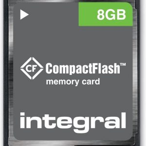 Integral INCF8GV2 flashgeheugen 8 GB CompactFlash