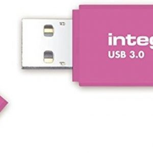 Integral INFD128GBNEONPK3.0 USB flash drive 128 GB USB Type-A 3.2 Gen 1 (3.1 Gen 1) Roze