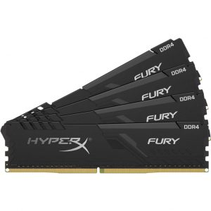Kingston HyperX Fury 16GB DDR4 DIMM 2400 MHz (4x4GB)