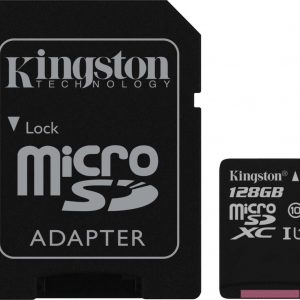 Kingston Technology Canvas Select flashgeheugen 128 GB MicroSDXC Klasse 10 UHS-I