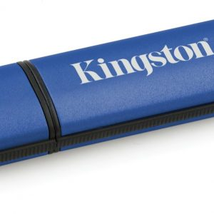 Kingston Vault Privacy 4GB - USB-Stick / Blauw