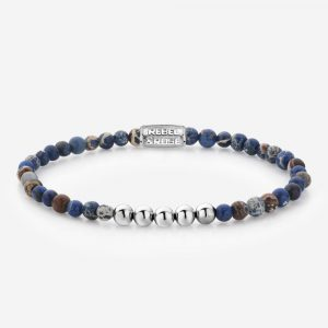 Rebel & Rose Armband 4mm Universe Blue S