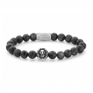 Rebel & Rose Armband Grey Seduction L