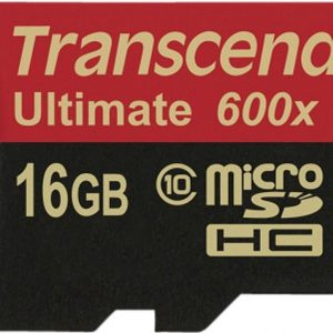 Transcend 16GB Micro SDHC Class 10 UHS-I 600x (Ultimate)