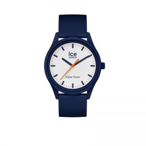 Ice-Watch Ice-Solar Medium Blauw Wit