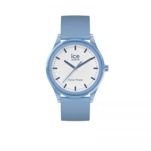 Ice-Watch Ice-Solar Medium Lichtblauw Wit