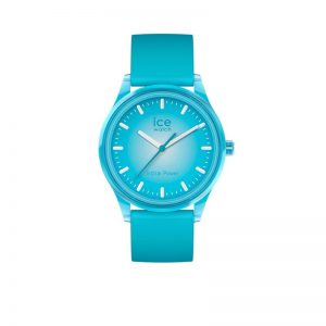 Ice-Watch Ice-Solar Medium Neon Blauw