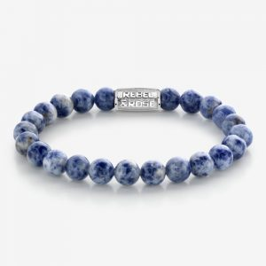 Rebel & Rose Armband RR-80079-S Dutch Delfts Blue XL