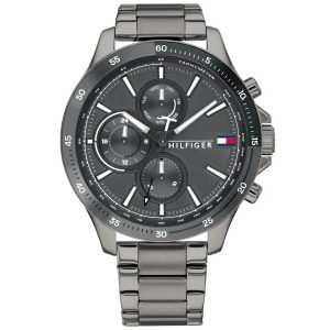 Tommy Hilfiger Bank Horloge TH1791719 Grey