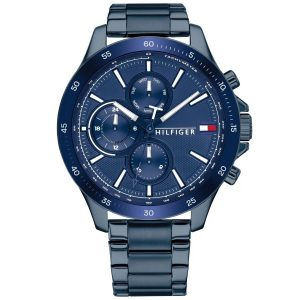 Tommy Hilfiger Bank Horloge TH1791720 Blue