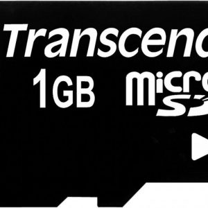 Transcend 1GB Micro SD kaart + adapter