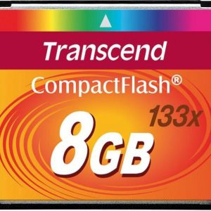Transcend Compact Flash Kaart 8 GB