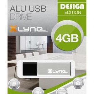 xlyne Alu - USB-stick - 4 GB