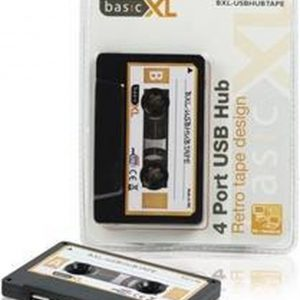 Basic XL, 4-Poorts Retro USB Hub