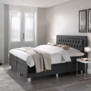 Complete Italiaanse 2-persoons Kwaliteitsboxspring - Valentina-180 x 200 cm - Inclusief thuismontage