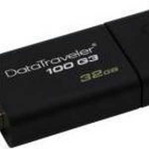 Kingston DataTraveler 100 G3 - 32GB Opslag - USB-flashstation
