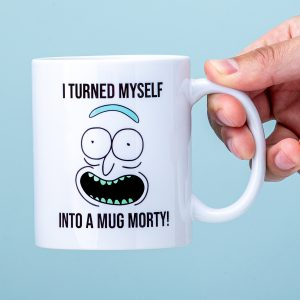 Rick and Morty I Turned Myself Into A Mug mok