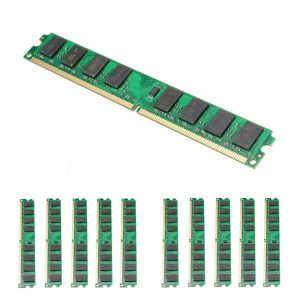 10PCS 2GB DDR2-800MHz PC2-6400 240PIN DIMM AMD moederbordgeheugen 978.039