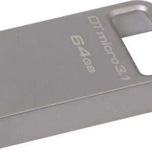 64GB DTMicro USB 3.1/3.0 Type-A metal ultra-compact flash drive