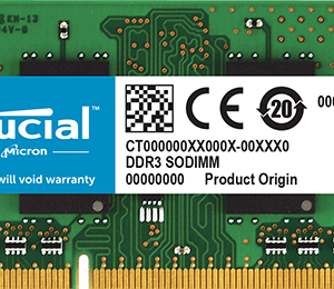 CT102464BF160B - Geheugen - DDR3L - 8 GB - SO DIMM 204-PIN - 1600 MHz / PC3-12800 - CL11