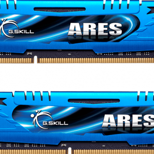 G.Skill ARES F3-1600C9D-8GAB - Geheugen - DDR3 - 8 GB: 2 x 4 GB - DIMM 240-PIN - 1600 MHz / PC3-12800 - CL9