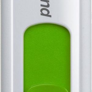 JetFlash 530 16GB White - Capless disign with sliding USB2 connector (Green)